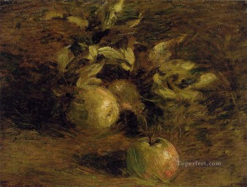 Still life Painting - Apples Henri Fantin Latour still lifes